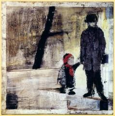 Paternité acrylique et huile sur toile 1997.jpg